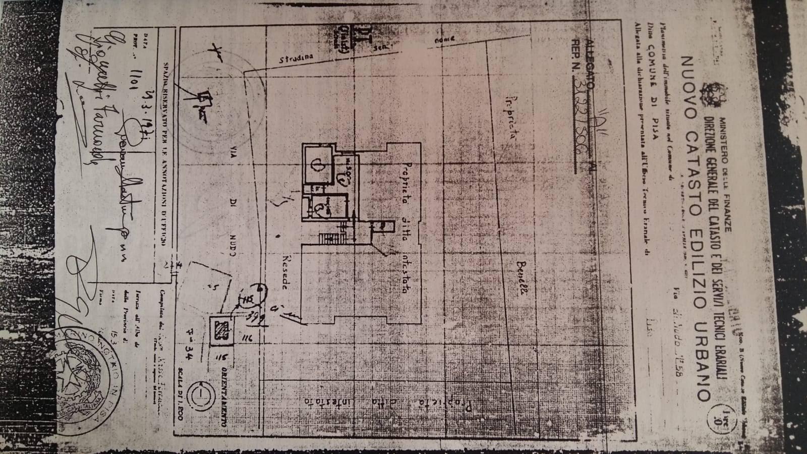 Planimetria /1 per rif. p490v
