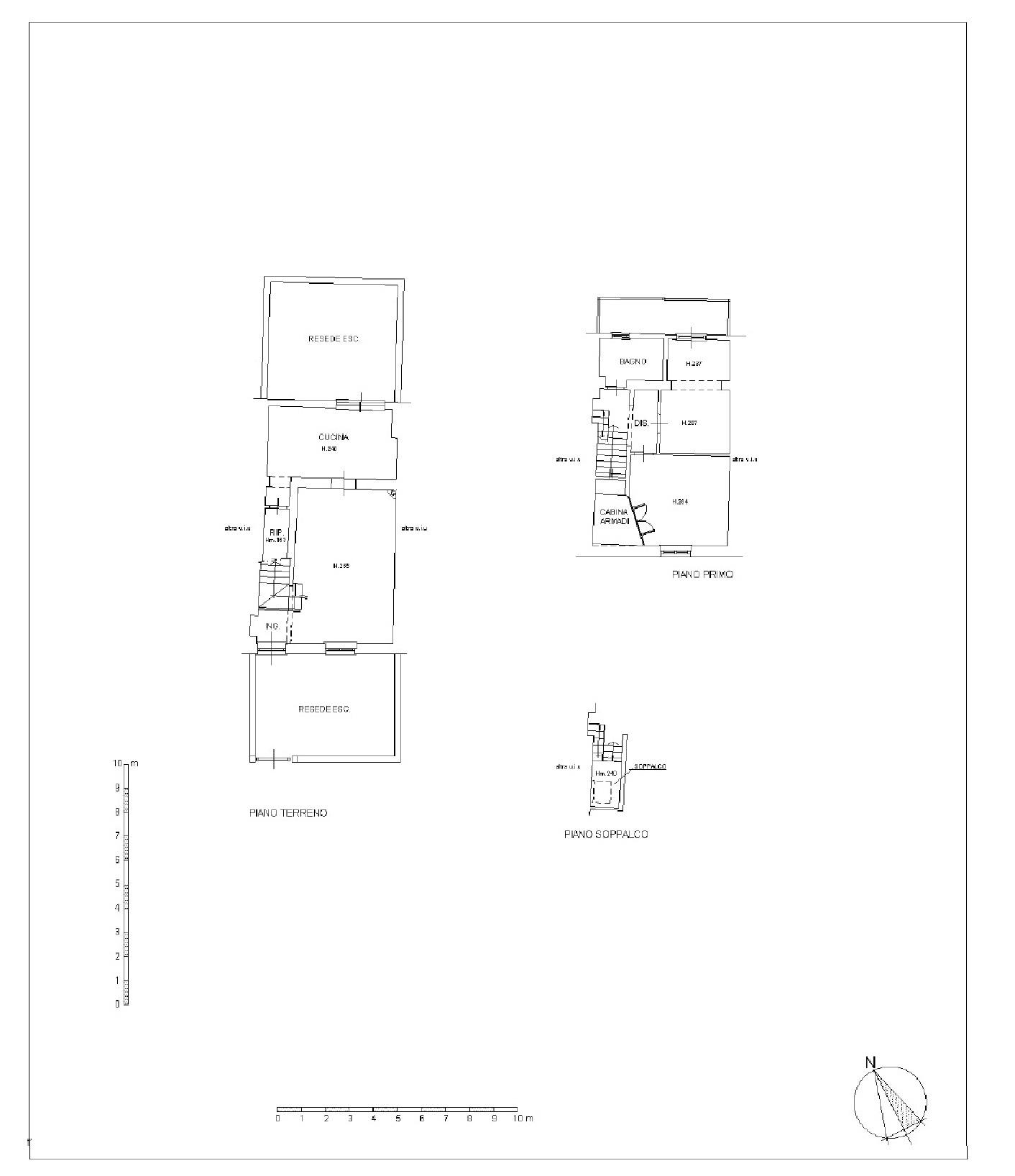 Terratetto in vendita, rif. p573v (Planimetria 1/1)