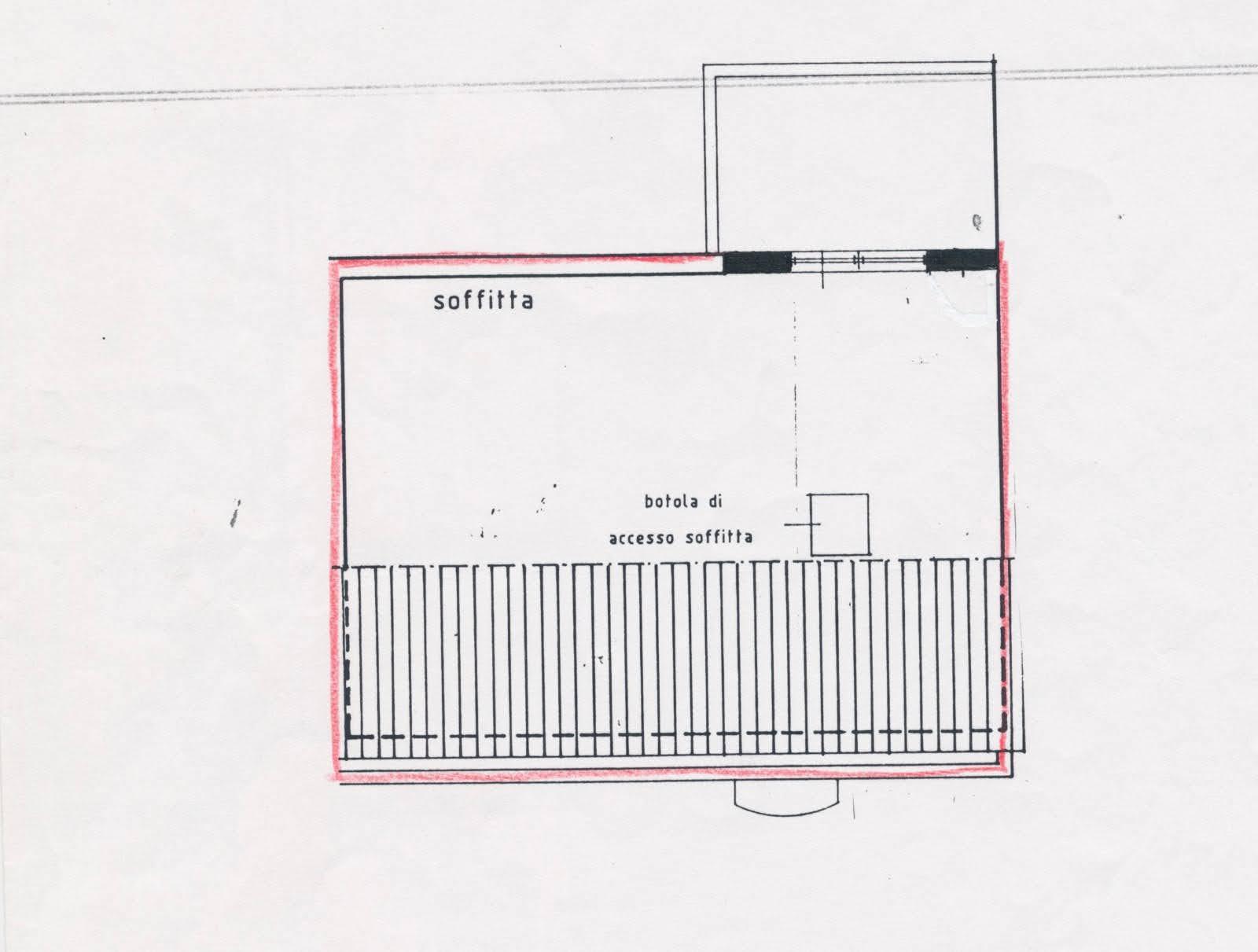 Planimetria 2/2 per rif. p599v