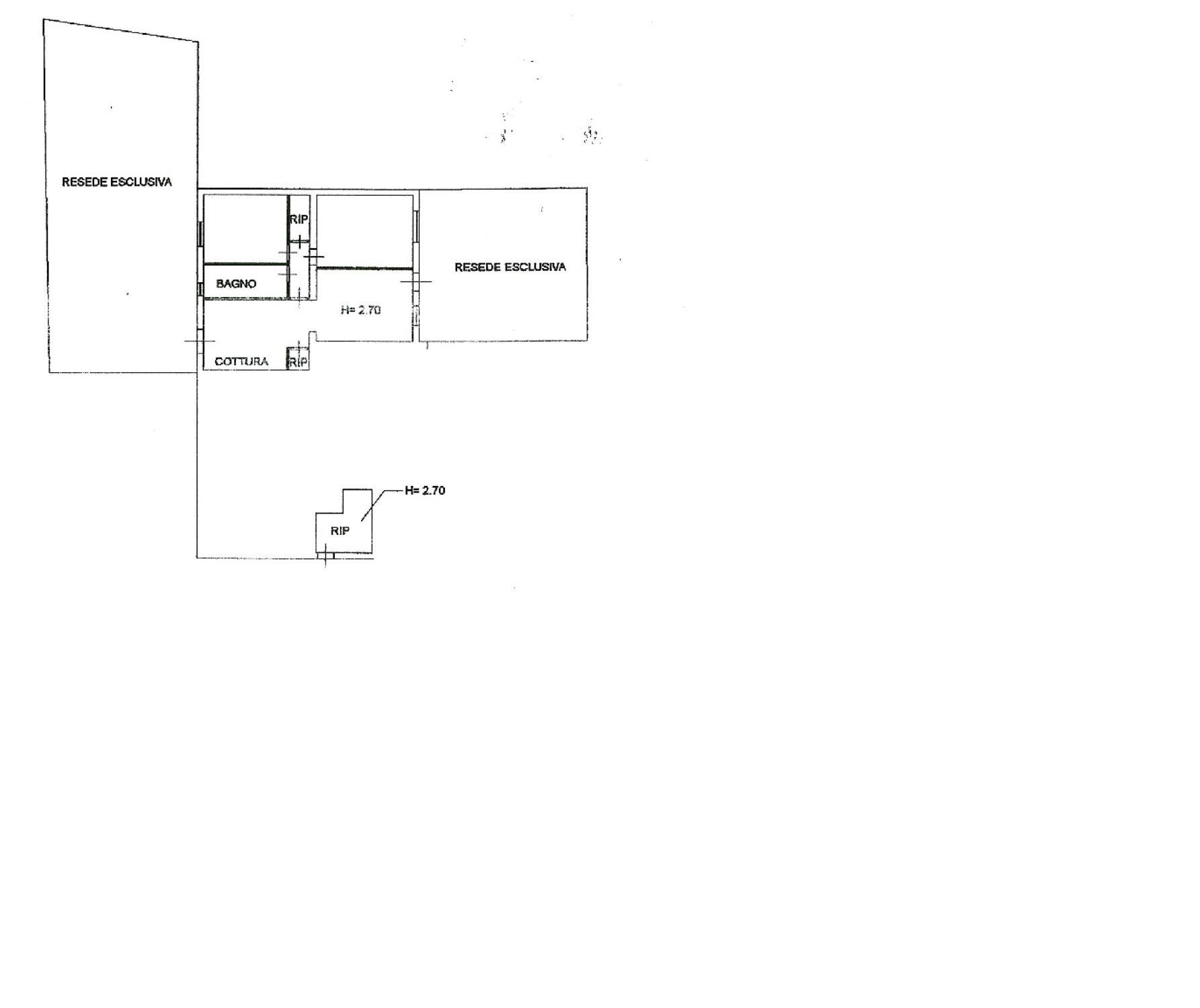 Planimetria 1/1 per rif. SITO50398