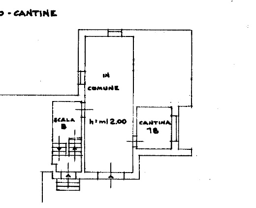 Planimetria 1/4 per rif. SITO30370
