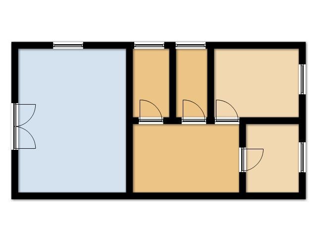 Planimetria 1/4 per rif. SITO50322