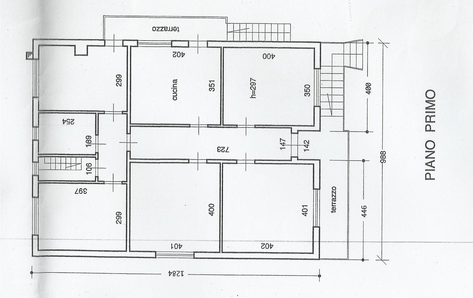 Planimetria 1/1 per rif. SITO10056