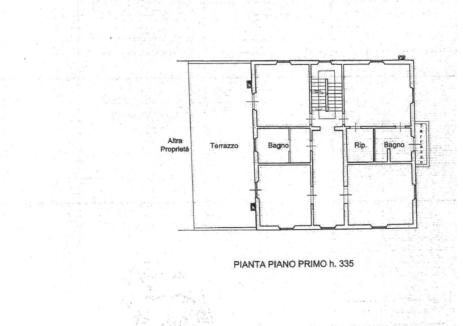 Planimetria 1/1 per rif. SITO50159FST