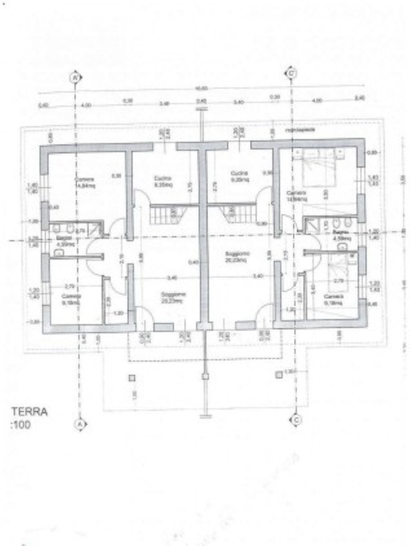Planimetria 1/1 per rif. SITO30073