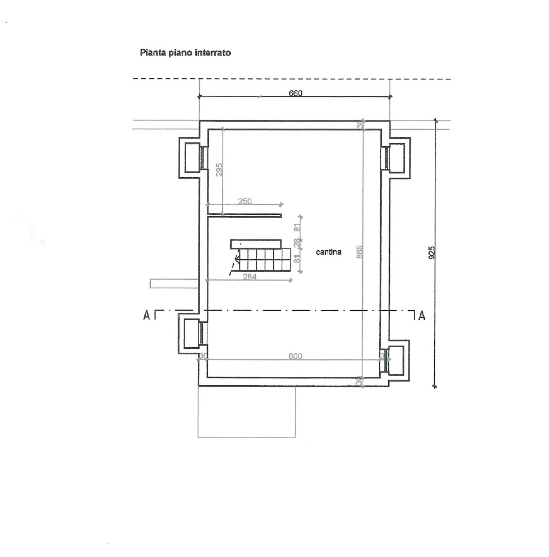 Planimetria 1/1 per rif. SITO50074