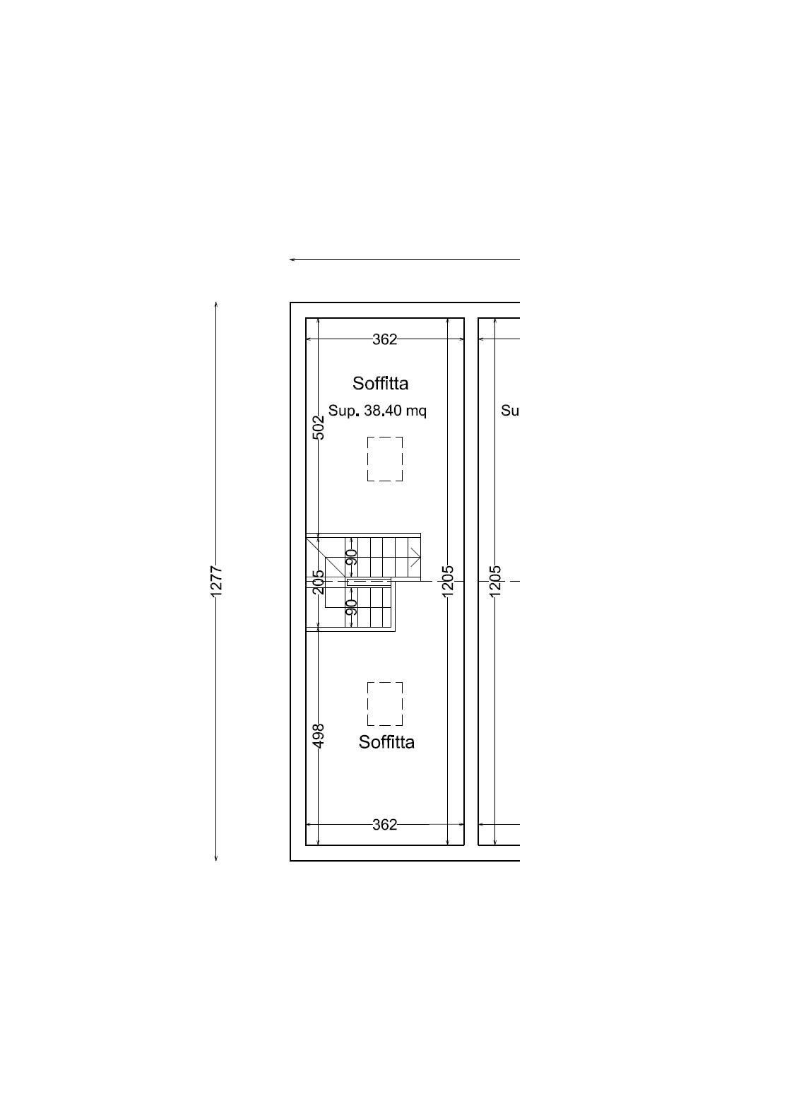 Planimetria 1/1 per rif. SITO50045