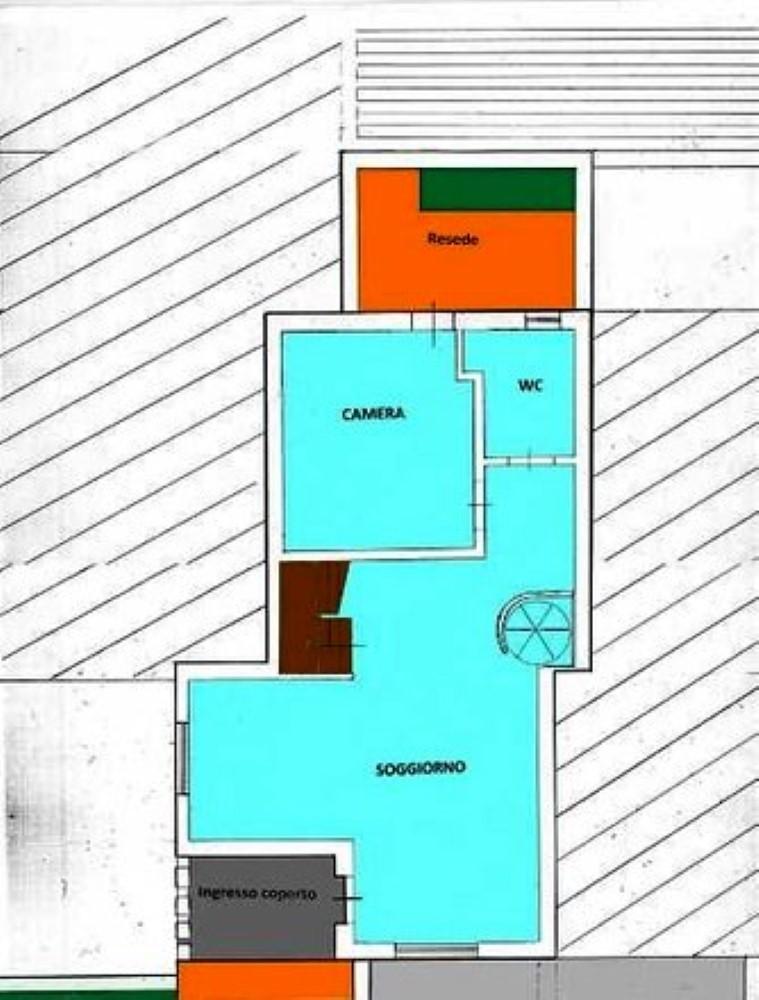 Planimetria 1/1 per rif. SITO50309