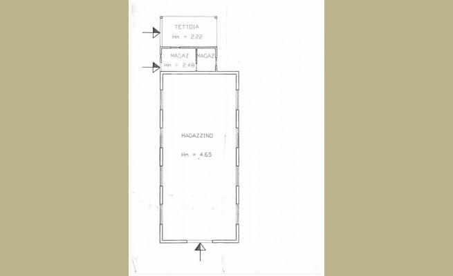 Planimetria 1/1 per rif. SITO30869