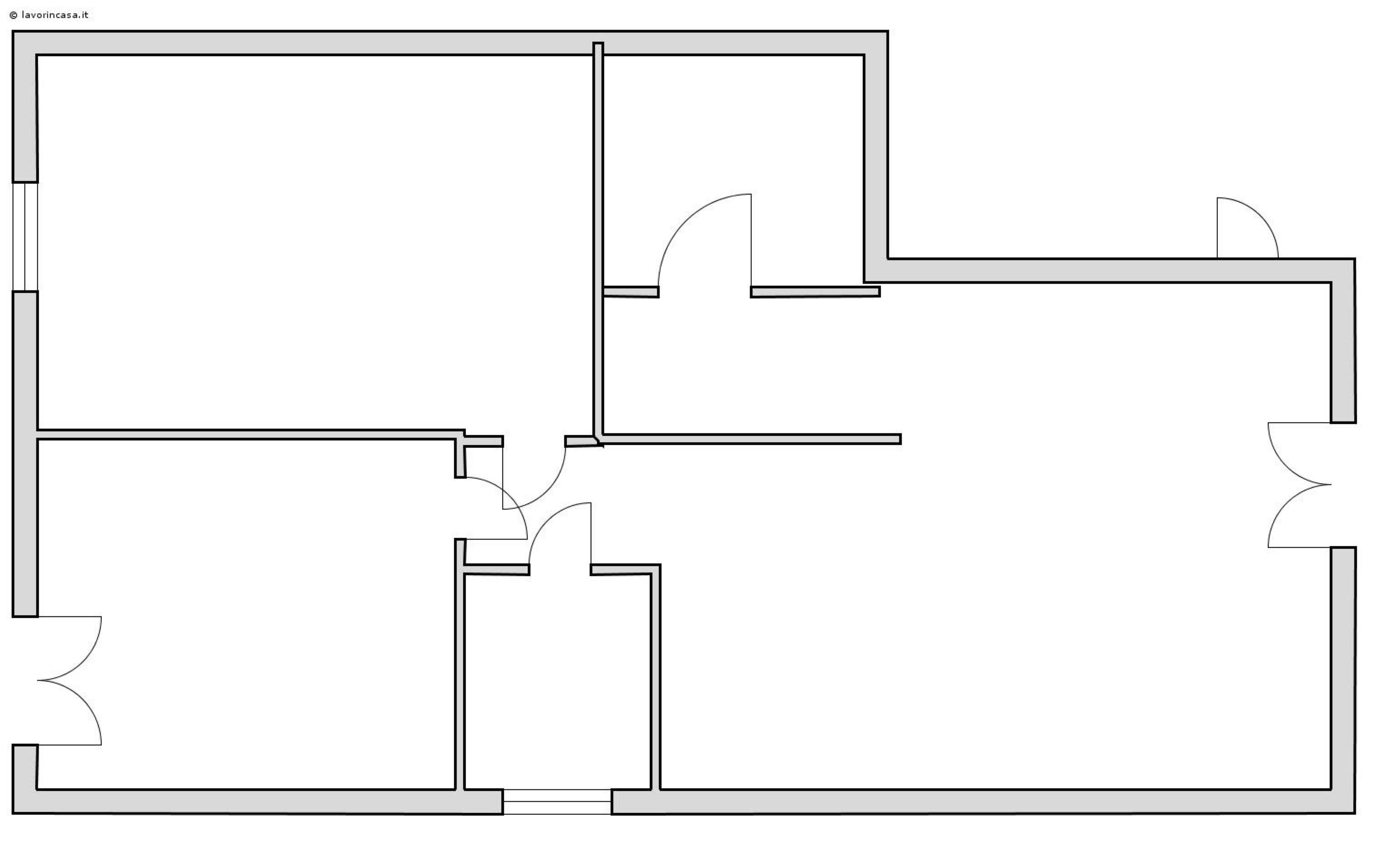 Planimetria 1/1 per rif. SITO0004