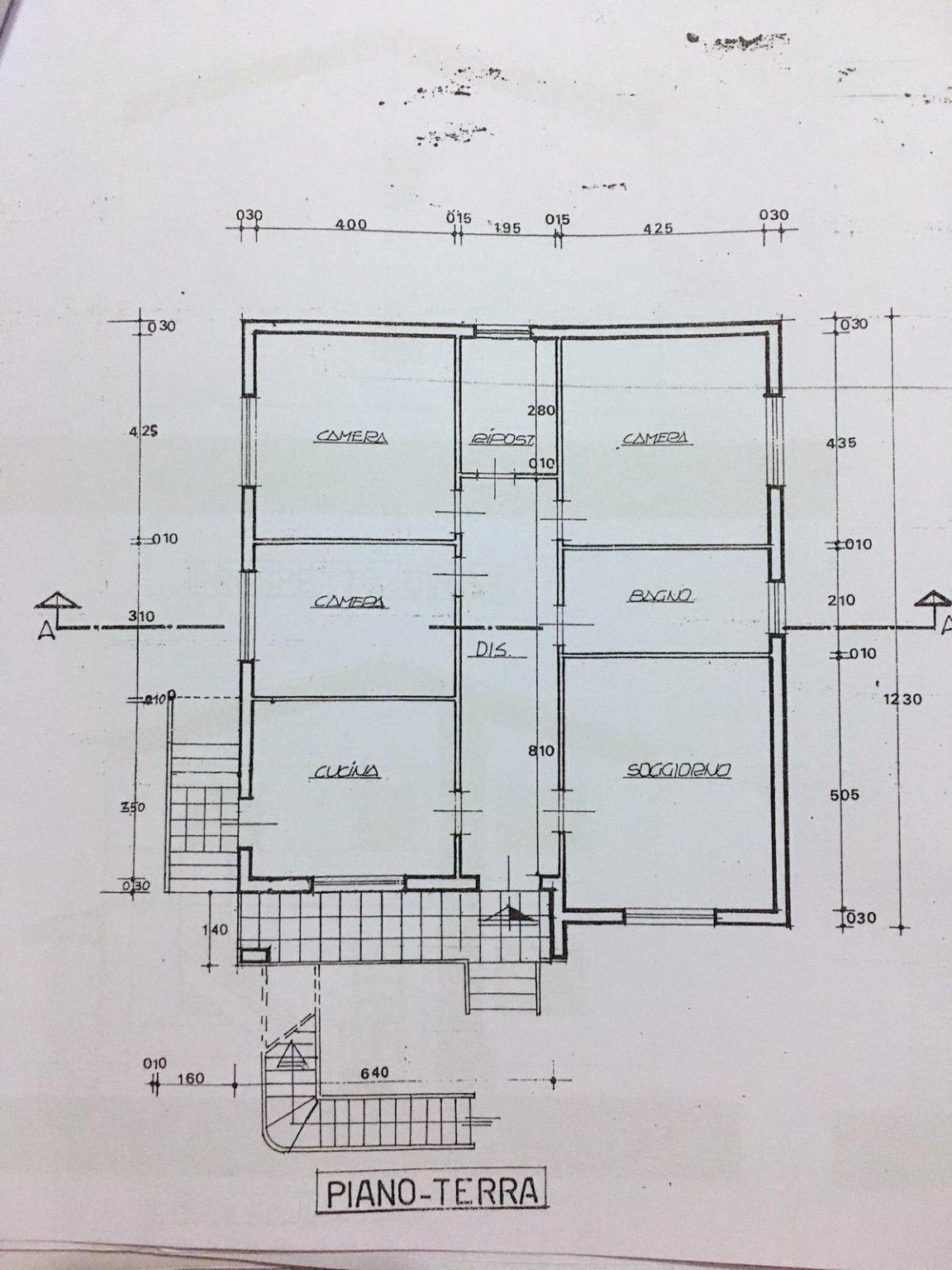 Planimetria 2/2 per rif. SITO50687