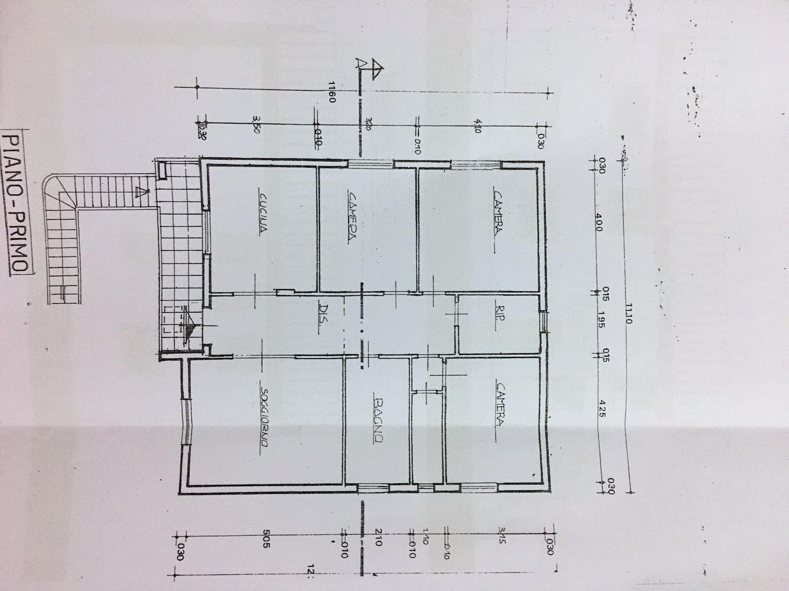 Planimetria 1/2 per rif. SITO50687