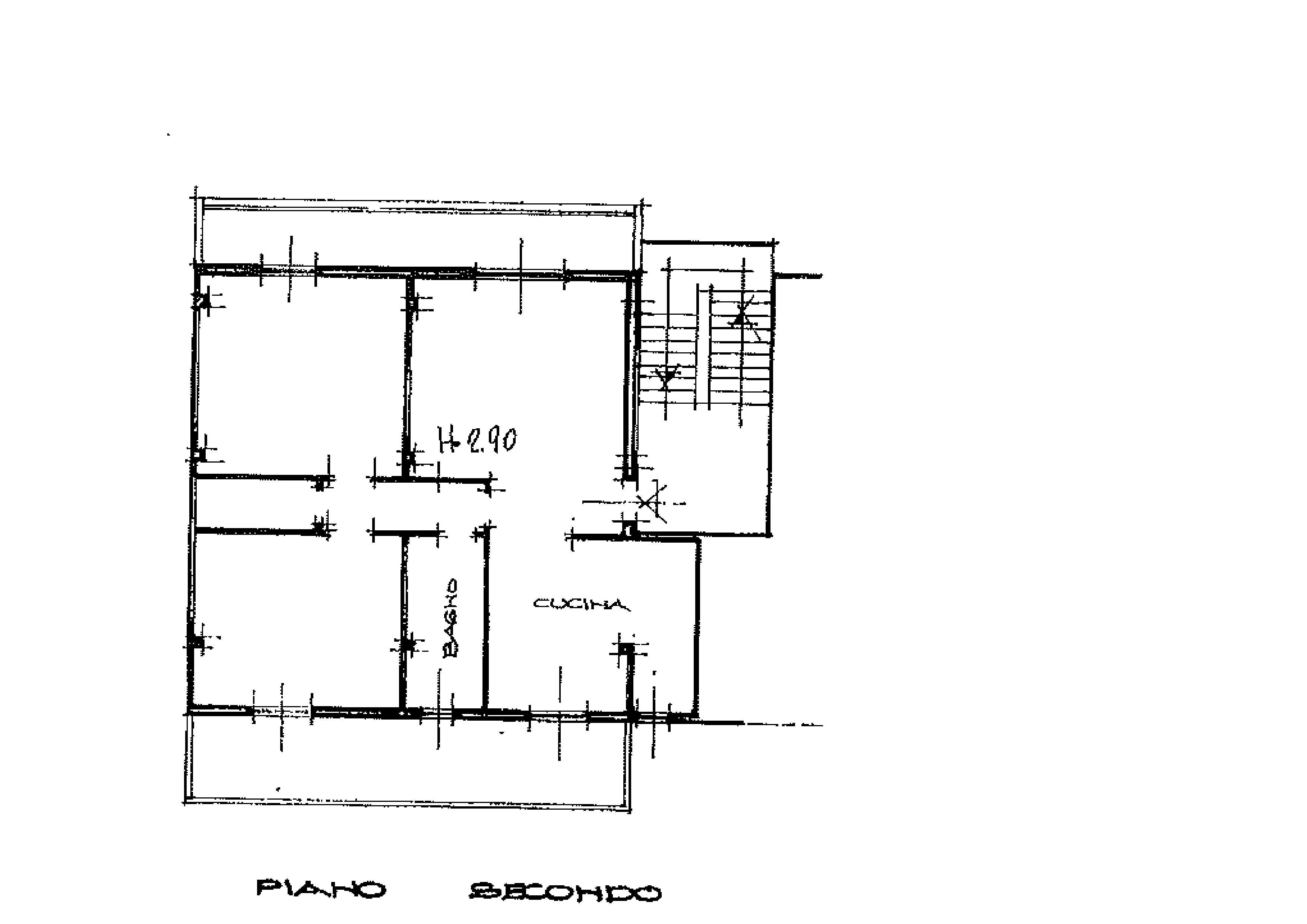 Planimetria 1/1 per rif. A260