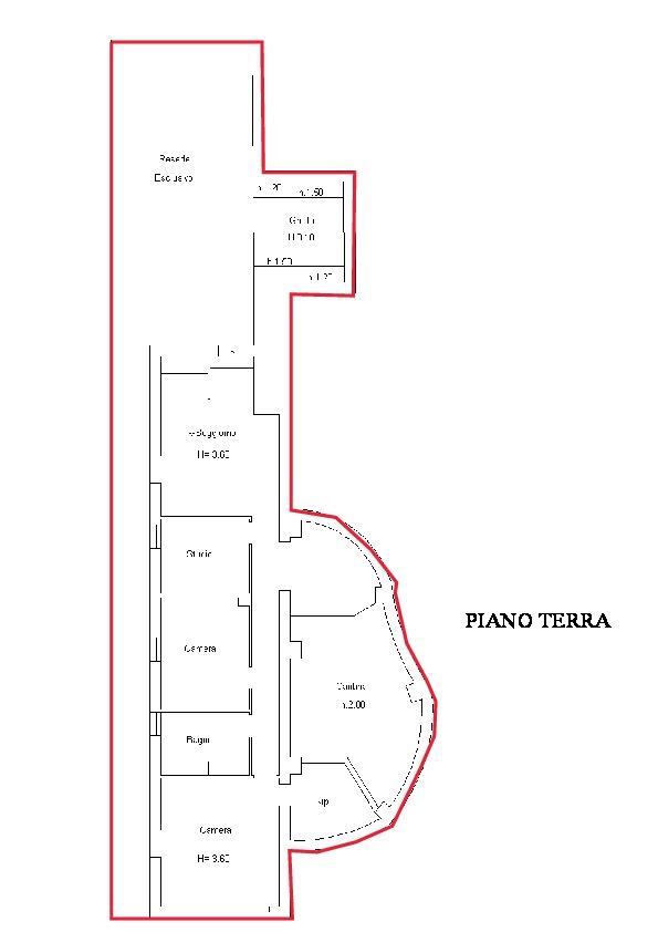 Planimetria 1/1 per rif. A615