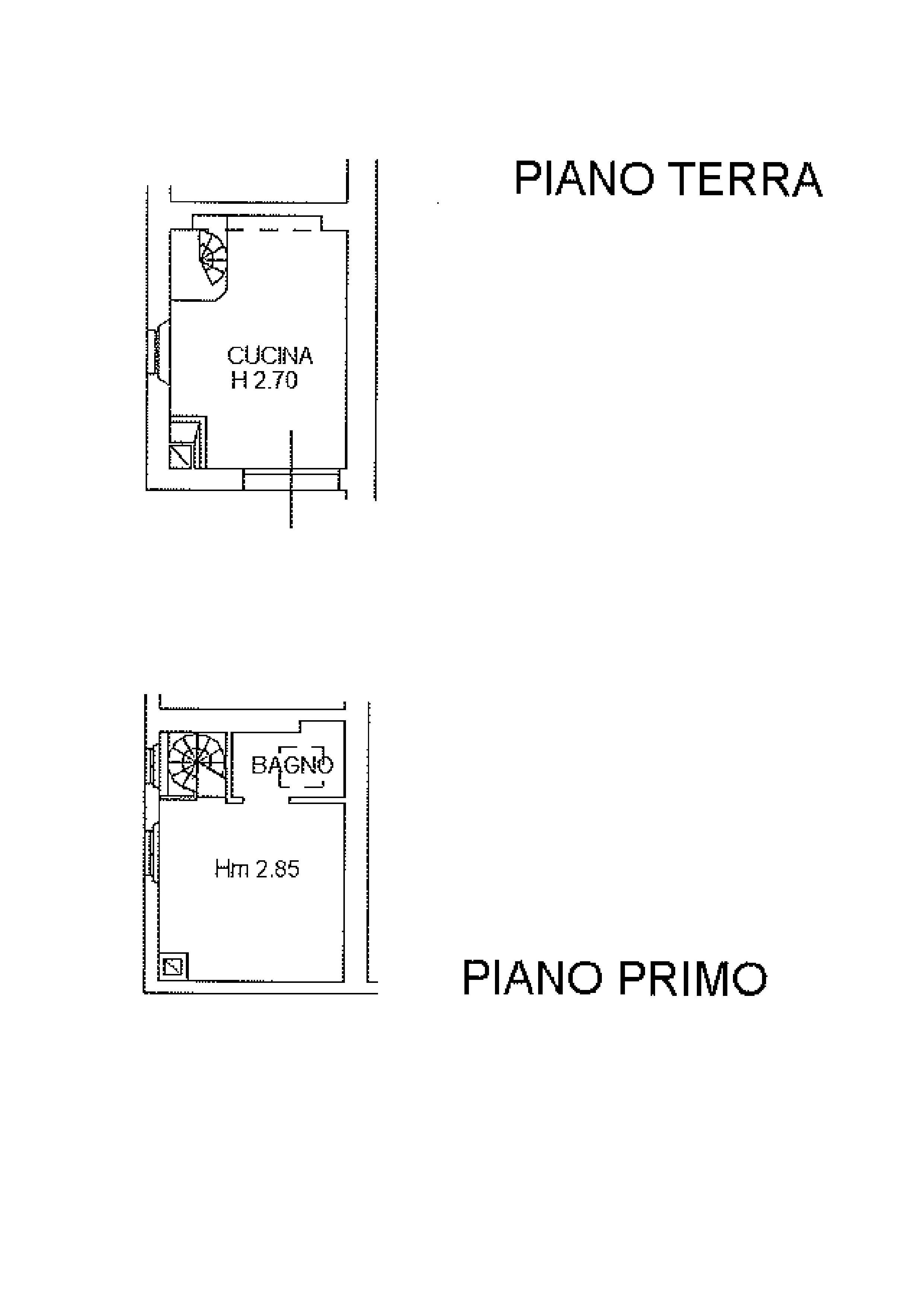 Planimetria 1/1 per rif. R550