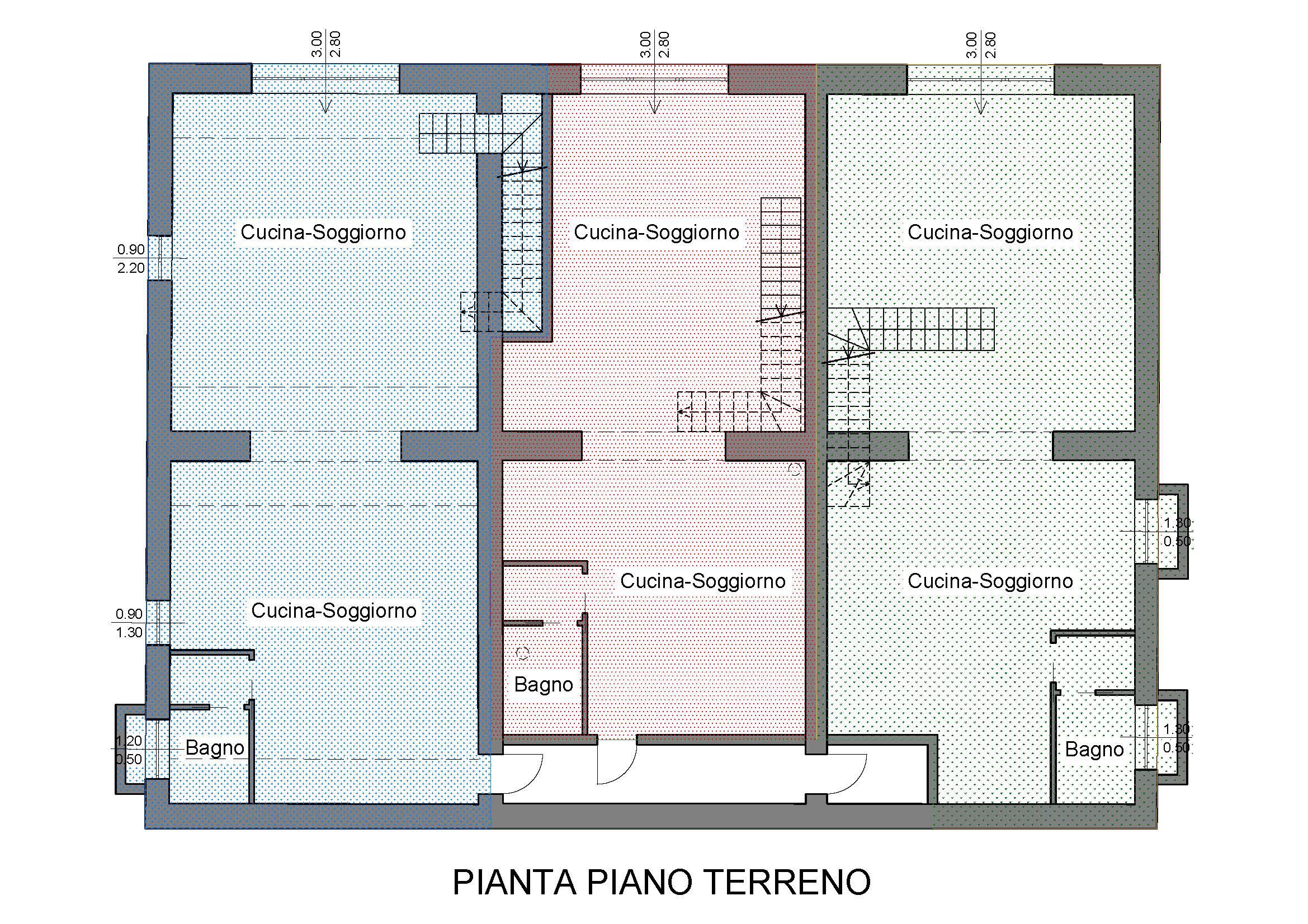 Planimetria 1/2 per rif. R560