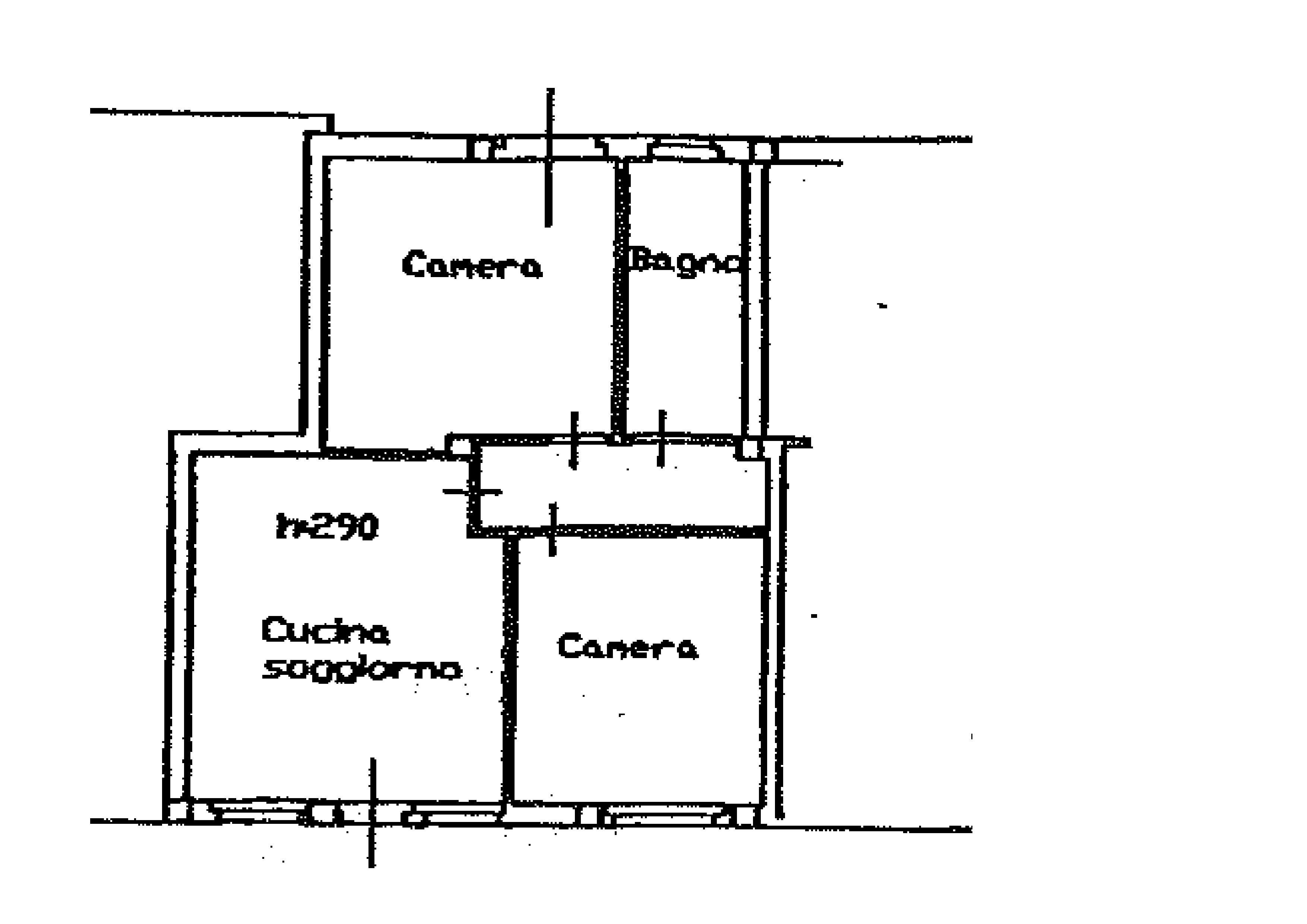 Planimetria 1/1 per rif. A365