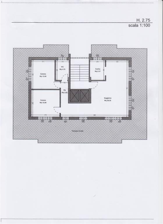 Planimetria 1/1 per rif. F165
