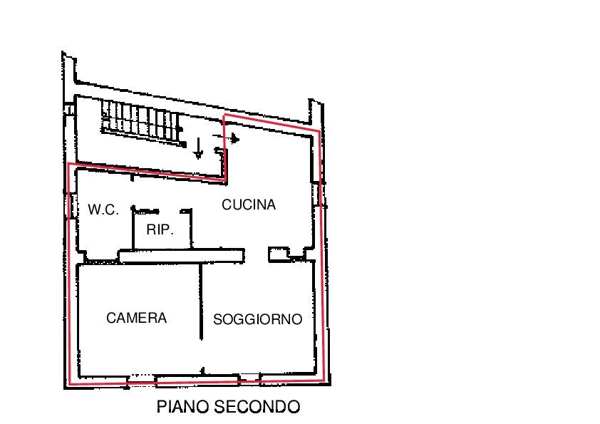 Planimetria 1/1 per rif. A360