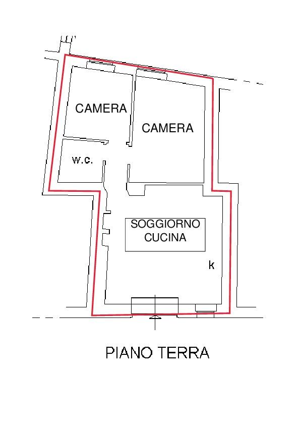 Planimetria 1/1 per rif. A105