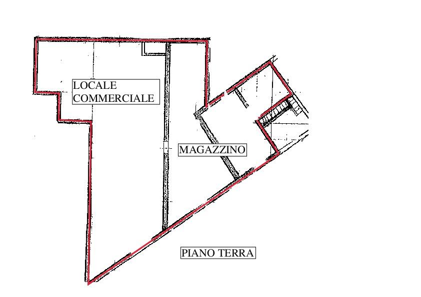 Planimetria 1/1 per rif. A500