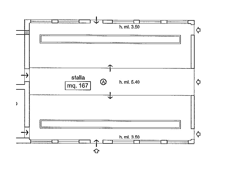 Planimetria 4/5 per rif. R500