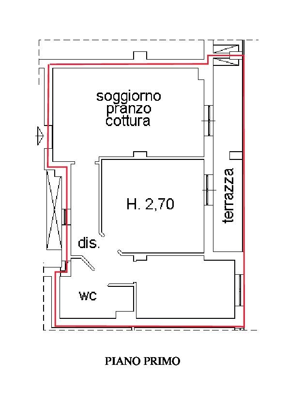Planimetria 1/2 per rif. A210