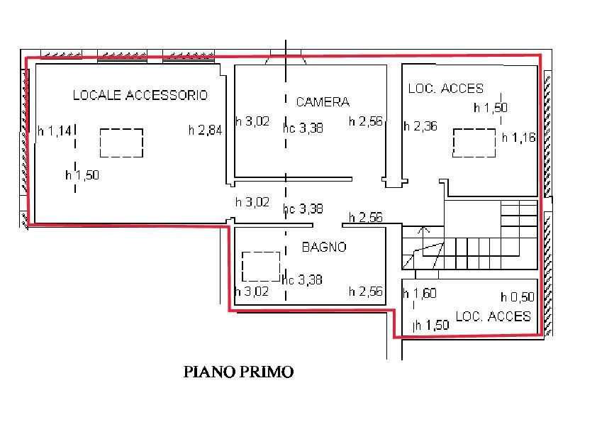 Planimetria 2/2 per rif. R510