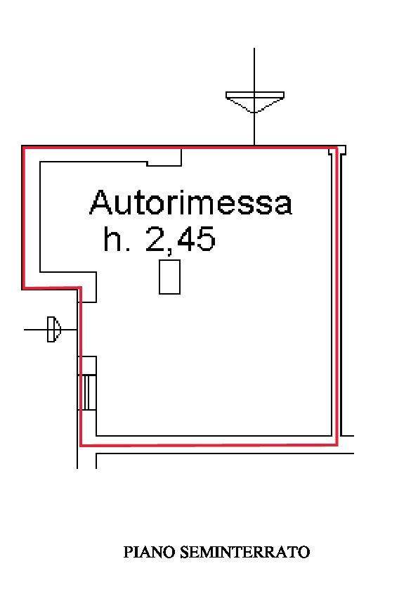 Planimetria 2/2 per rif. A255
