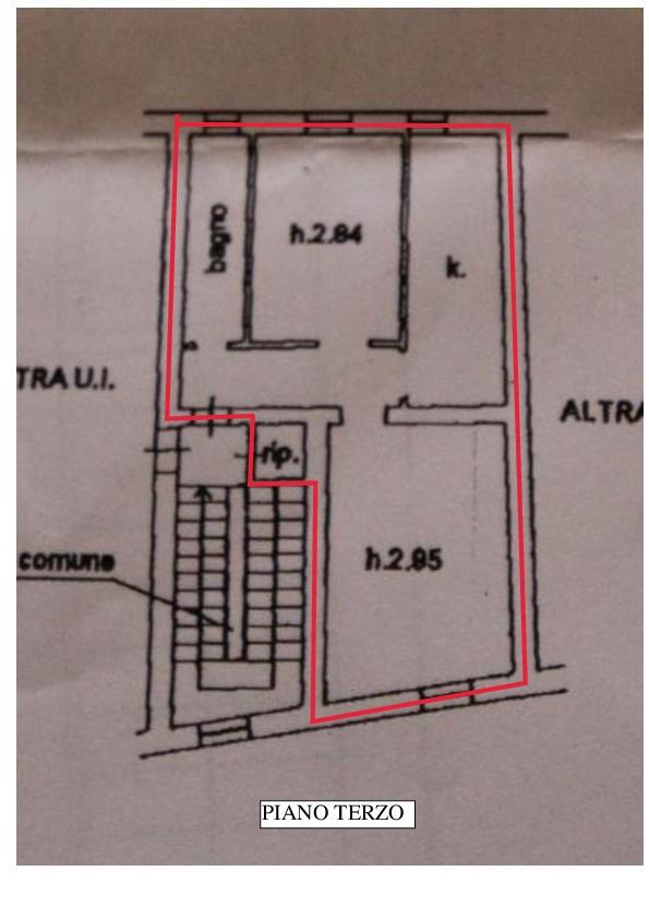 Planimetria 1/1 per rif. A285