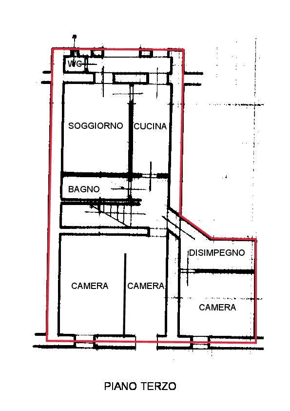 Planimetria 1/2 per rif. A200