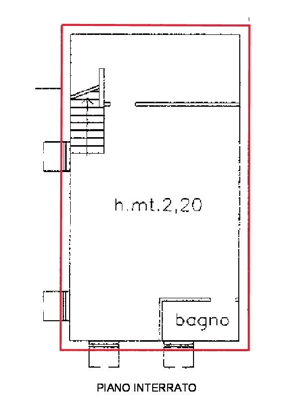 Planimetria 2/2 per rif. R540