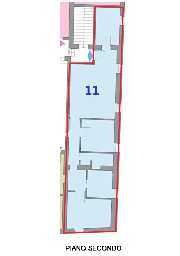 Planimetria 1/1 per rif. R410