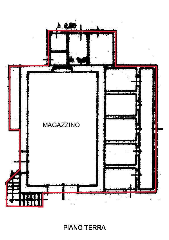 Planimetria 2/4 per rif. R450