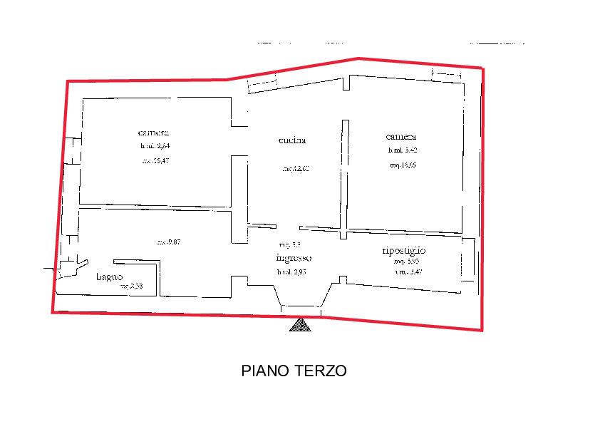 Planimetria 1/1 per rif. A240