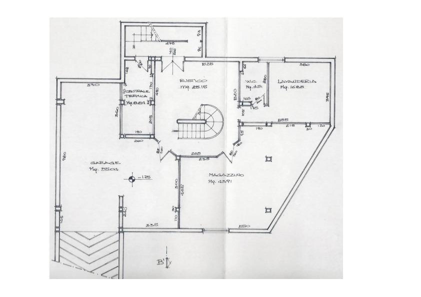 Planimetria 3/3 per rif. V200