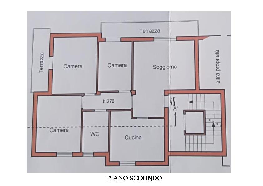 Planimetria 1/1 per rif. A840