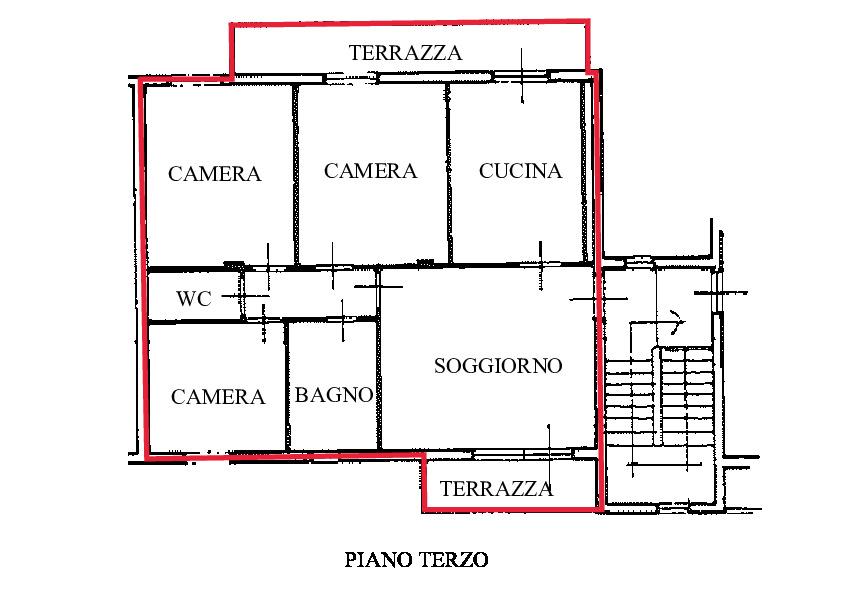 Planimetria 1/2 per rif. A860