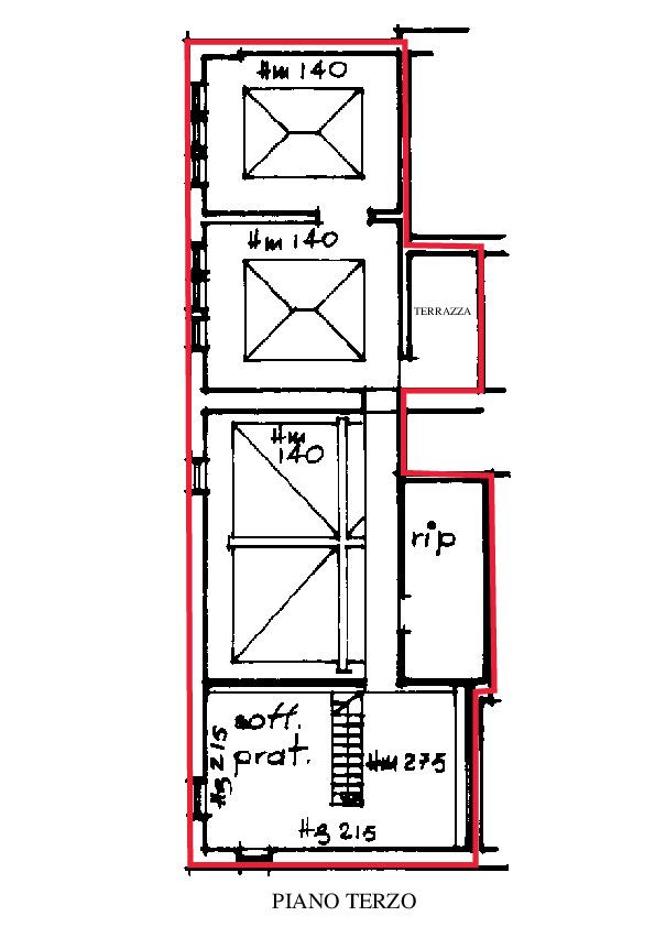 Planimetria 2/2 per rif. A470