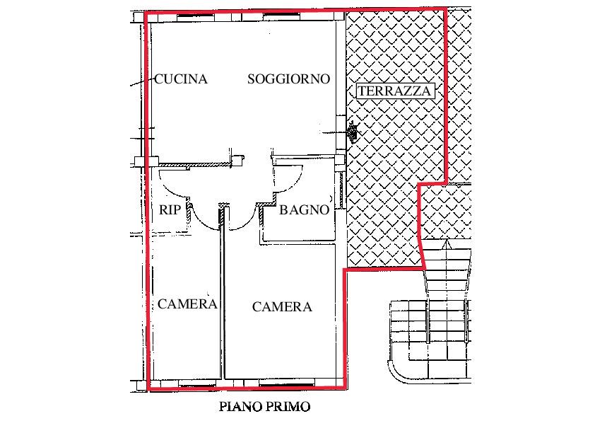 Planimetria 1/2 per rif. A150