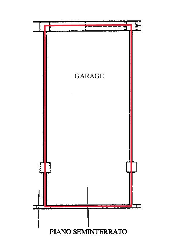 Planimetria 2/2 per rif. A150