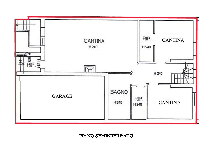 Planimetria 2/2 per rif. A225