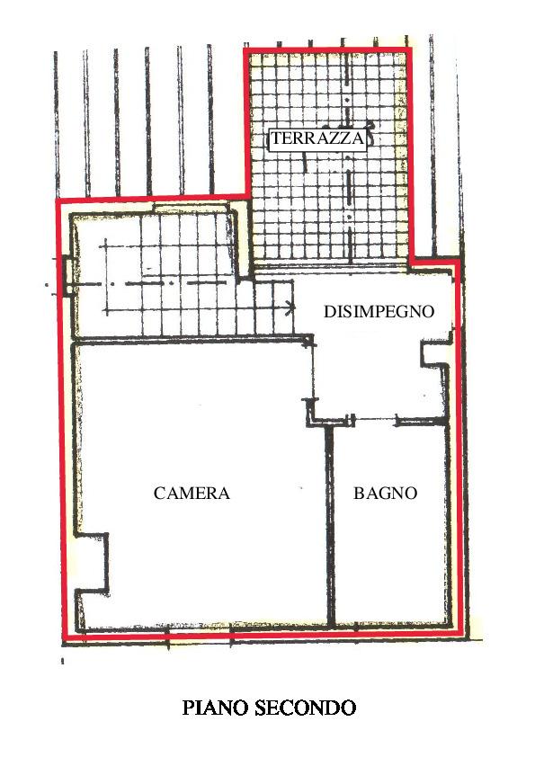 Planimetria 4/5 per rif. A600