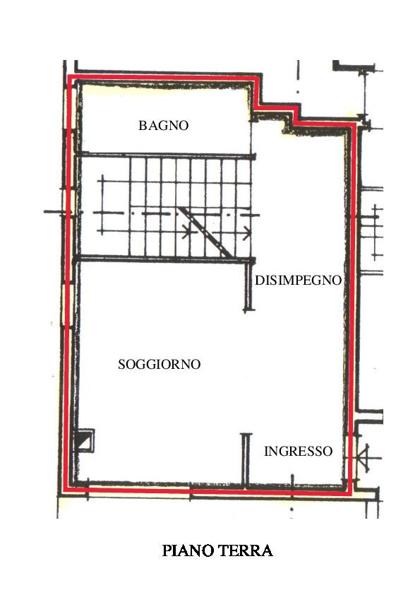 Planimetria 2/5 per rif. A600