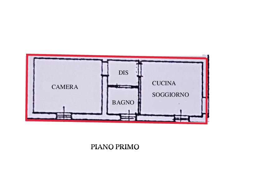 Planimetria 1/1 per rif. A280
