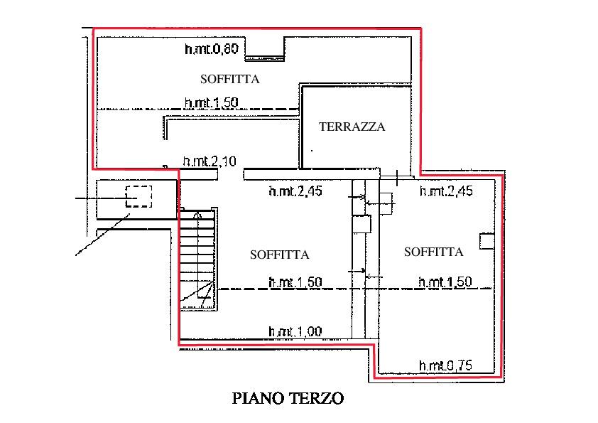 Planimetria 2/2 per rif. A115