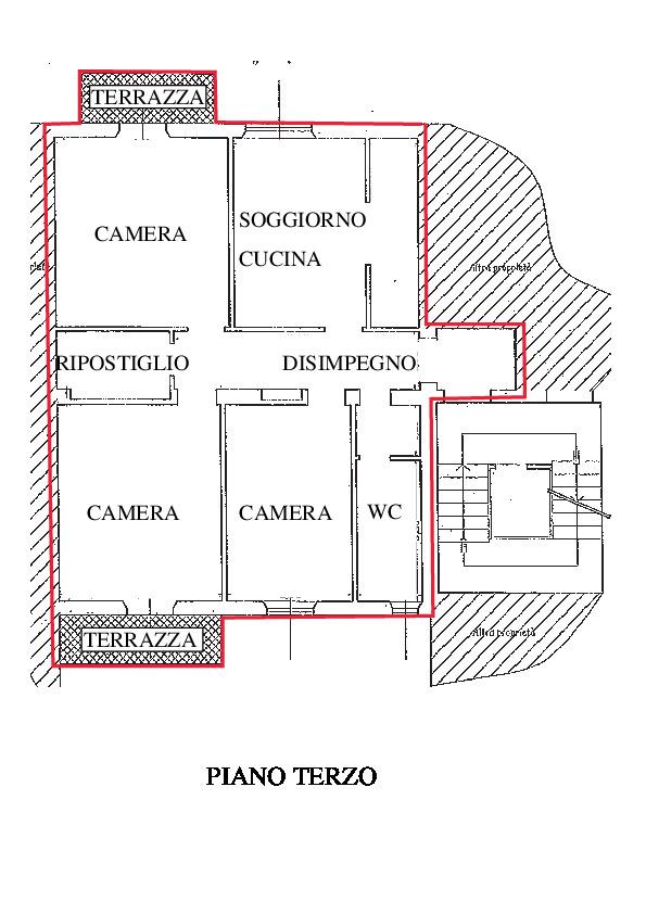 Planimetria 1/1 per rif. AP100