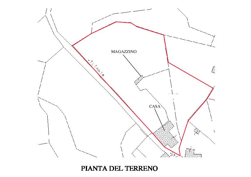 Planimetria 3/4 per rif. RM100