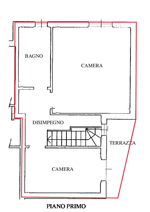 Planimetria 2/2 per rif. A495