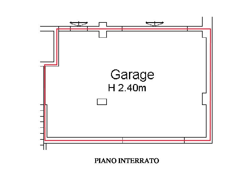 Planimetria 2/2 per rif. A275